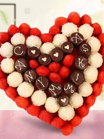 Love Star Meyve Sepeti Meyve Sepeti ve Çikolatalar çiçek gönder