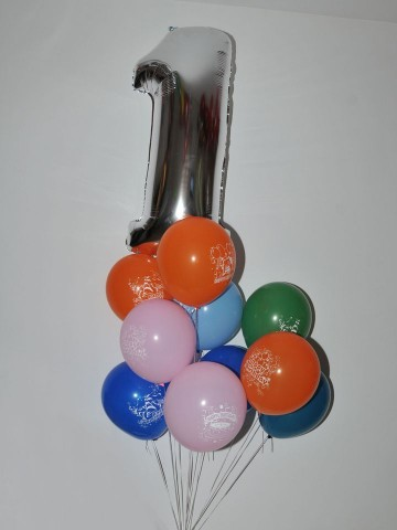 Bir Tek Sen Varsın, Uçan Balon Buketi Balonlar çiçek gönder