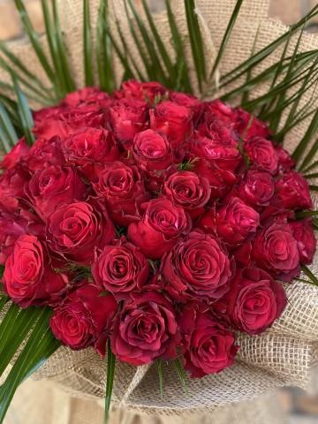 50 Adet Rhodos Gül  Buketler çiçek gönder