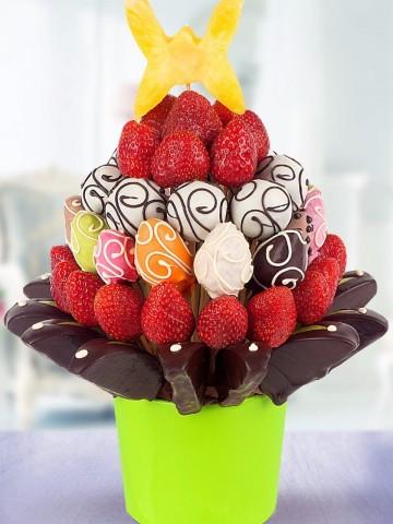 amore alla fragola Meyve Sepeti ve Çikolatalar çiçek gönder