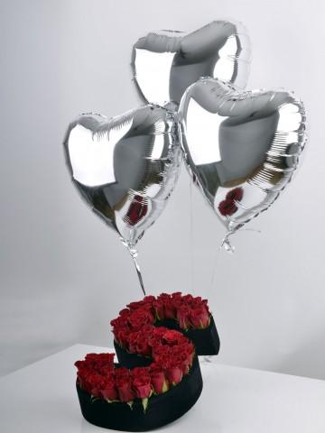 Adın Süzülür Gökyüzümde Harfli Çiçek çiçek gönder