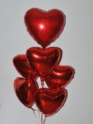 Kalbimdesin Uçan  Balon Buketi Balonlar çiçek gönder