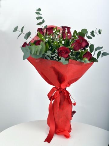 Buket 11 Kırmızı Gül Buketler çiçek gönder