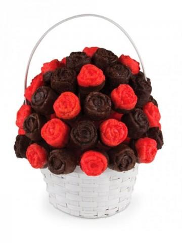 Lezzet Buketleri Meyve Sepeti ve Çikolatalar çiçek gönder