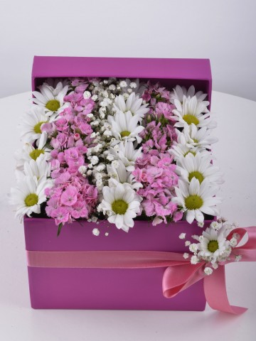 Özel Kutuda Baharın Gelişi Kır Çiçeği Arajmanı. Kutuda Çiçek çiçek gönder