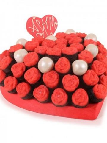 Kalpli Lezzetler Meyve Sepeti ve Çikolatalar çiçek gönder