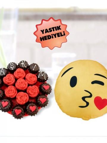 Çikolatalı anılar Meyve Sepeti ve Çikolatalar çiçek gönder