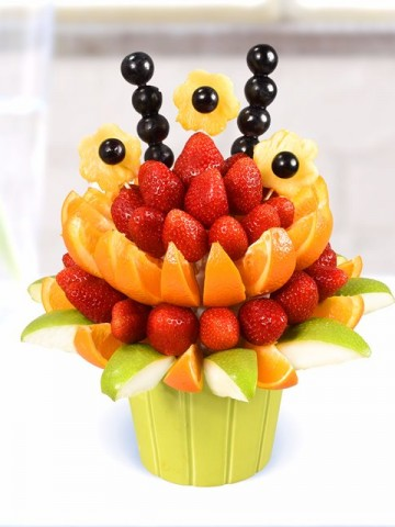 Fresh Gift Meyve Sepeti ve Çikolatalar çiçek gönder