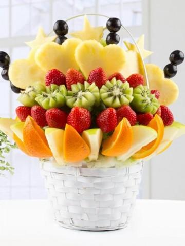 Fresh Love Meyve Sepeti ve Çikolatalar çiçek gönder