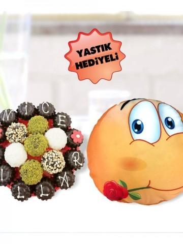 Çiçek Çikolata Meyve Sepeti ve Çikolatalar çiçek gönder