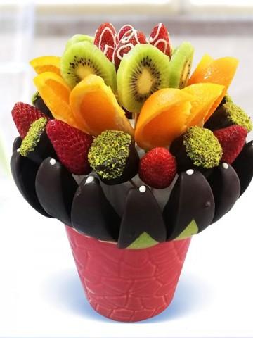 En Lezzetlim Meyve Sepeti ve Çikolatalar çiçek gönder