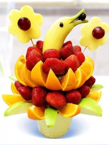 Vitamin Sepeti Meyve Sepeti ve Çikolatalar çiçek gönder