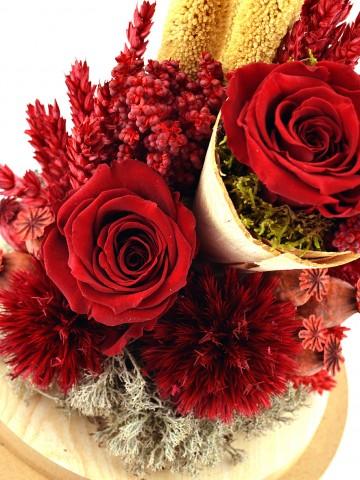 Aşkımız Yaşasın Kırmızı Solmayan Güller Solmayan Güller  çiçek gönder