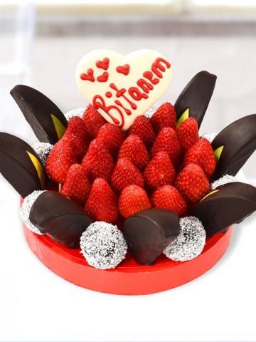 Love Pinny Meyve Çiçeği Meyve Sepeti ve Çikolatalar çiçek gönder
