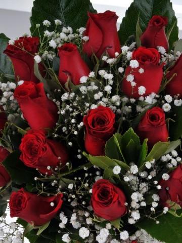 Derin Hisler 19 Kırmızı Gül Aranjmanlar çiçek gönder