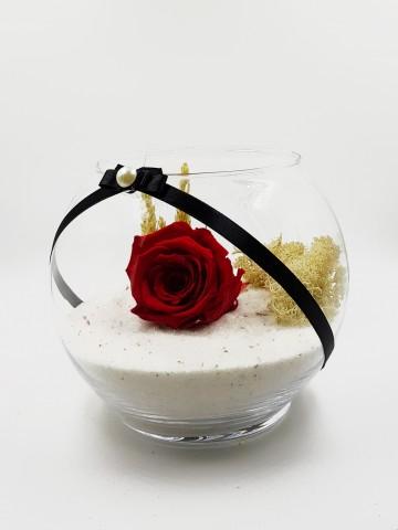 Solmayan Gül Özel Tasarım Solmayan Güller  çiçek gönder