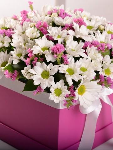 Baharın Habercisi Kutuda Çiçek çiçek gönder