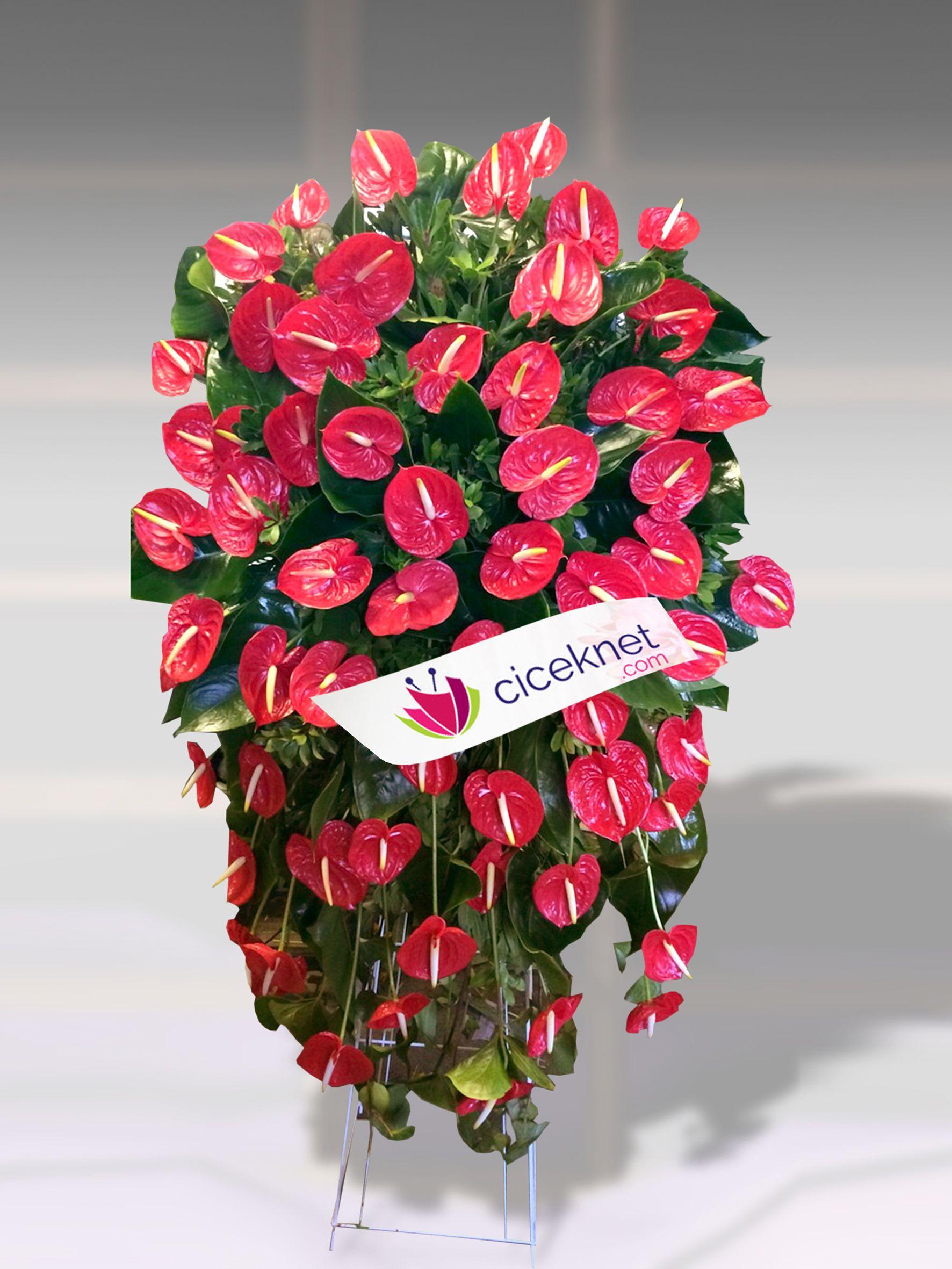 Ferforje 4  Ayaklı Sepet çiçek gönder