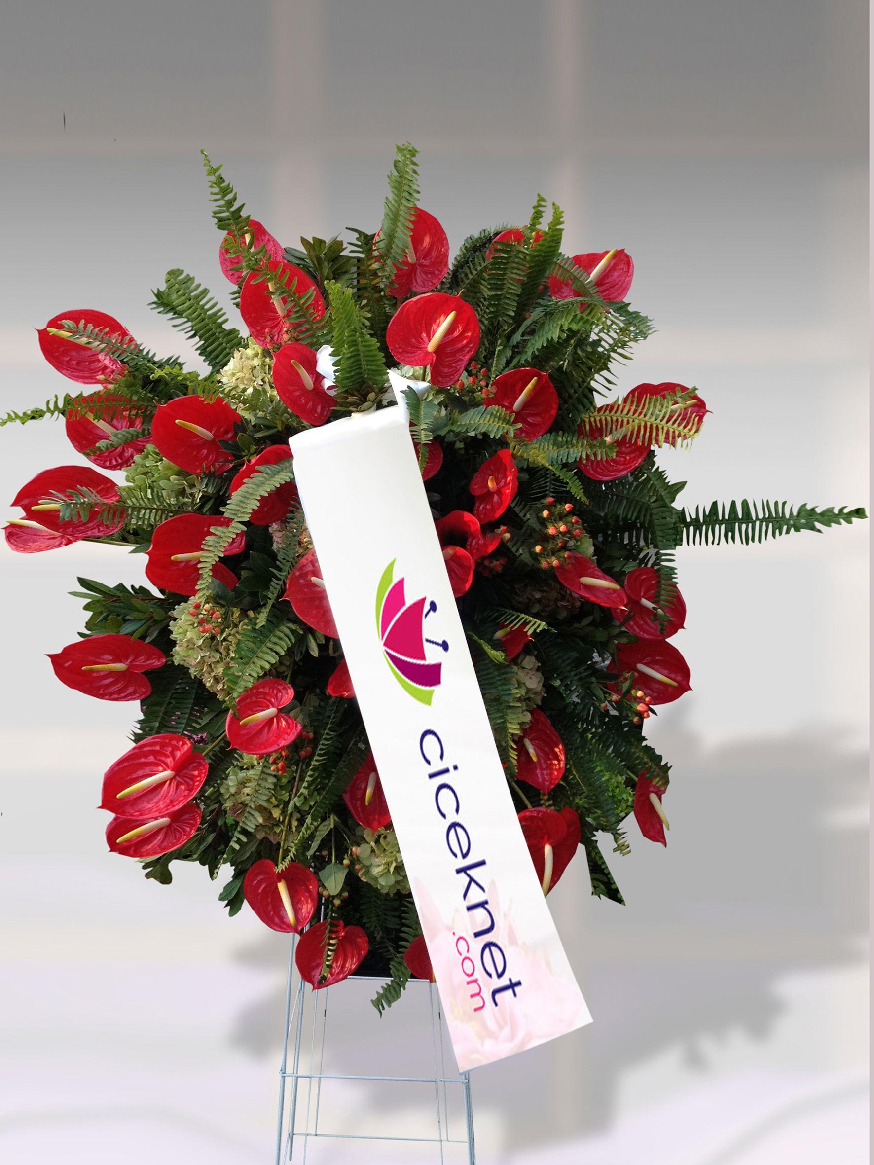Ferforje 3 Ayaklı Sepet çiçek gönder
