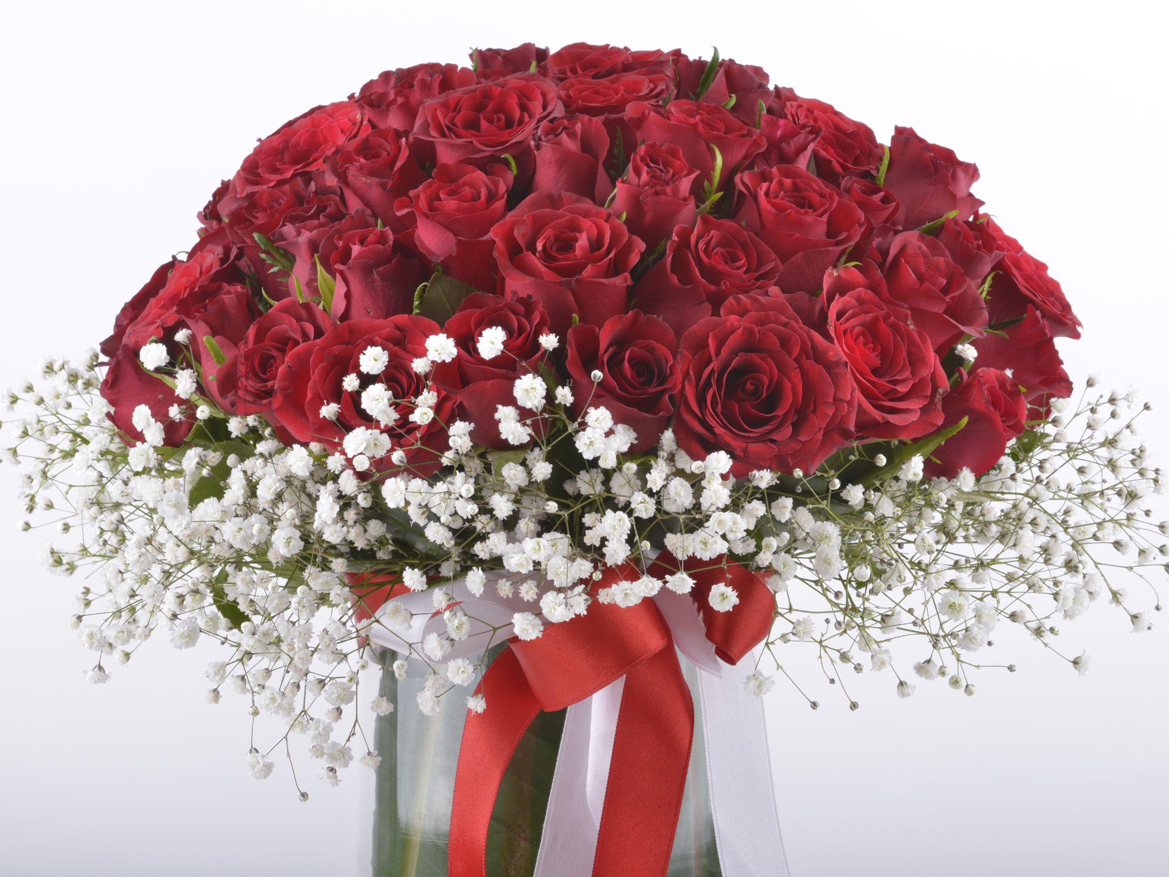 Seni Çok Seviyorum 50 Kırmızı Gül Aranjmanı  Aranjmanlar çiçek gönder