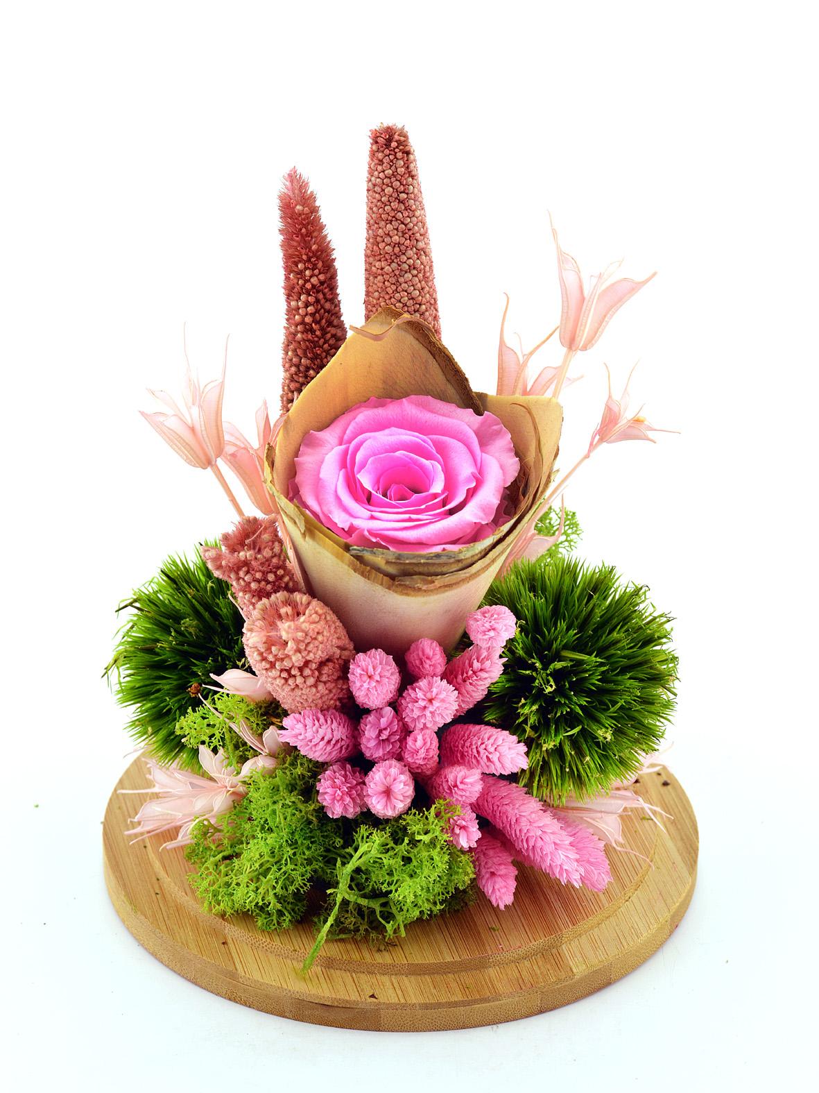 Bir Tek Sen Solmayan Gül Aranjmanı Solmayan Güller  çiçek gönder