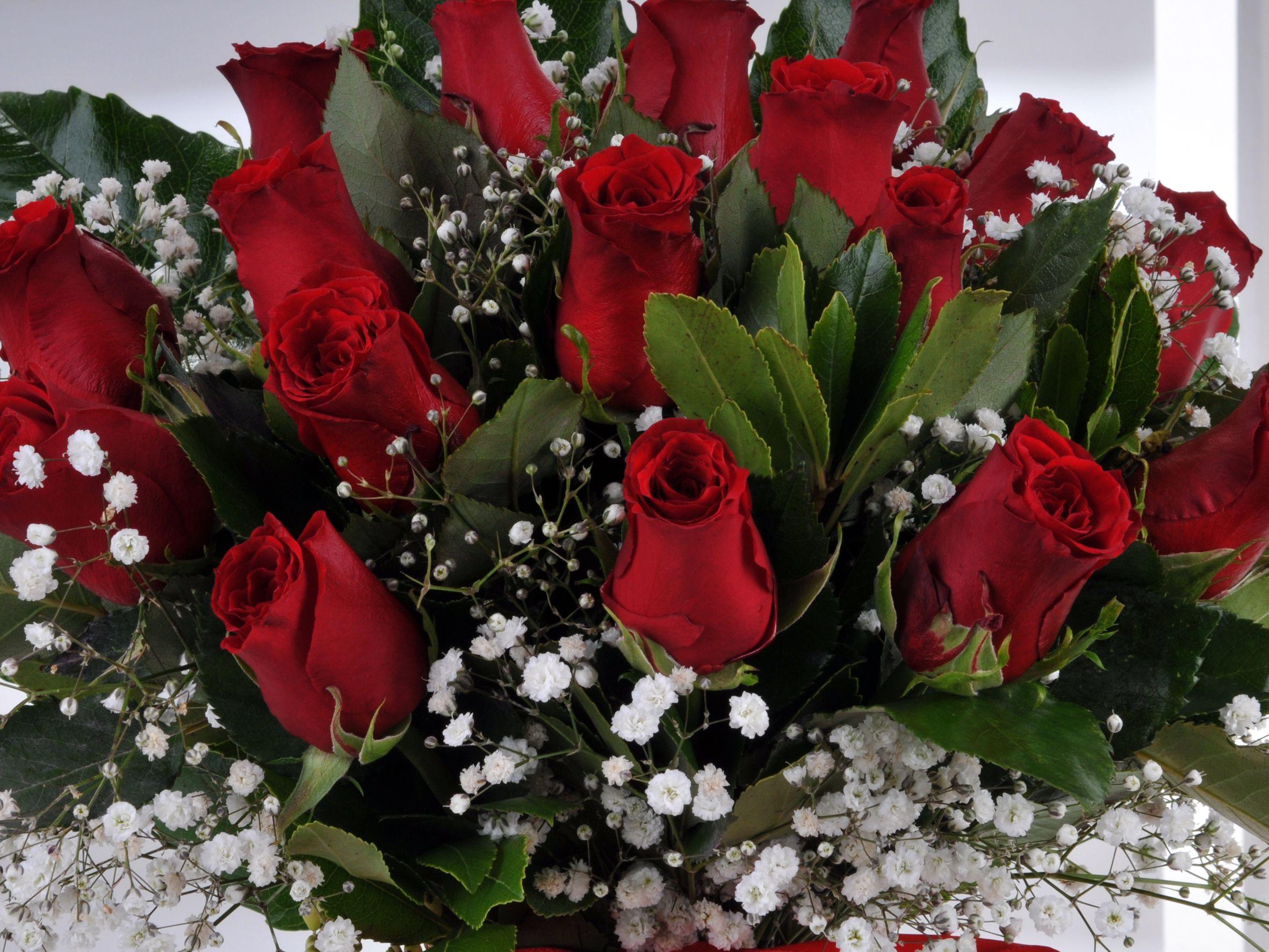 Vazoda 17 Kırmızı Gül.. Aranjmanlar çiçek gönder
