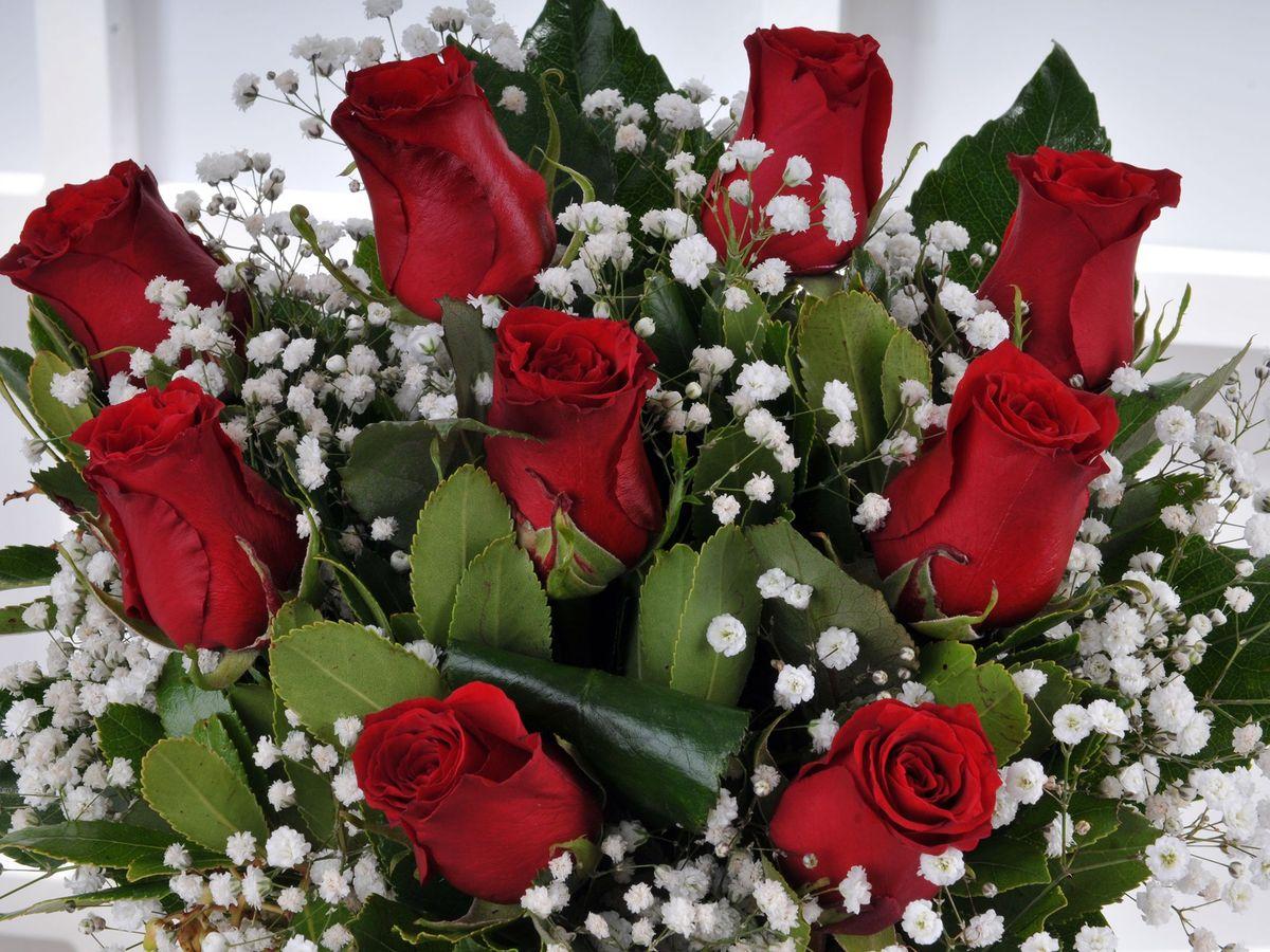 Vazoda 9 Kırmızı Gül Arajmanı. Aranjmanlar çiçek gönder
