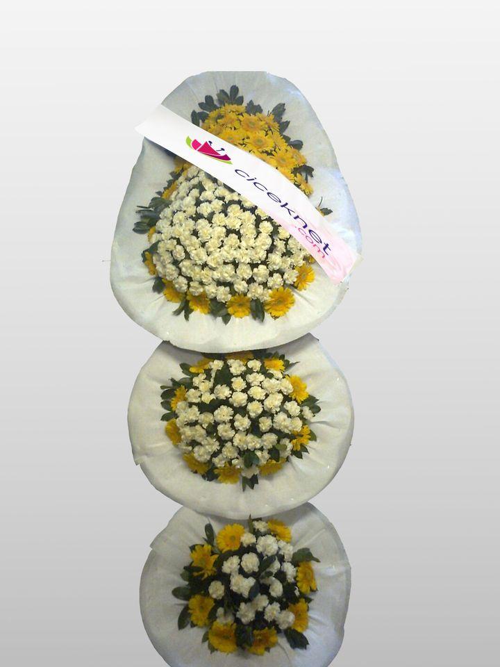 3 Göbekli Düğün ve Açılış Sepeti.. Ayaklı Sepet çiçek gönder