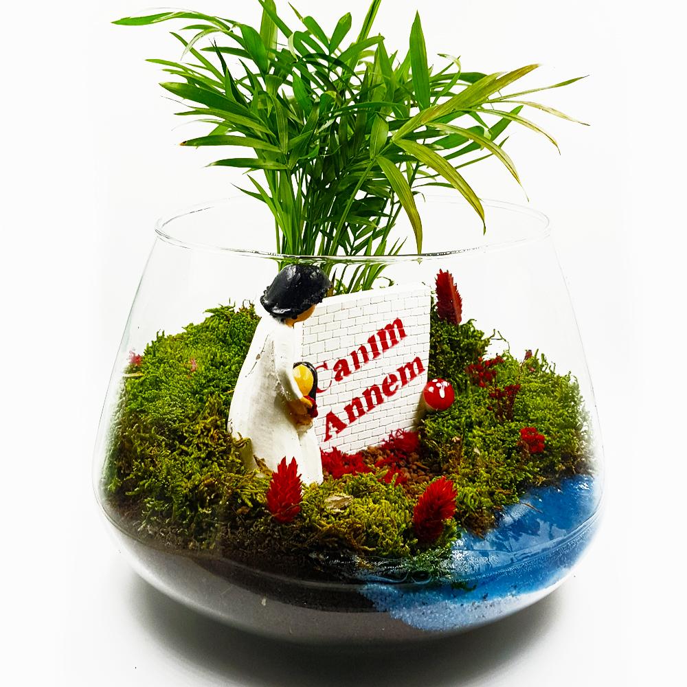 Canım Annem Terarium çiçek gönder