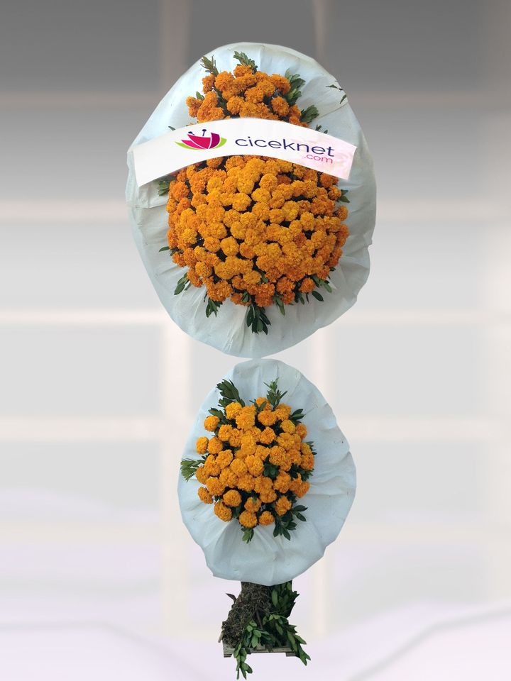 Düğün , Açılış Sepeti Ayaklı Sepet çiçek gönder